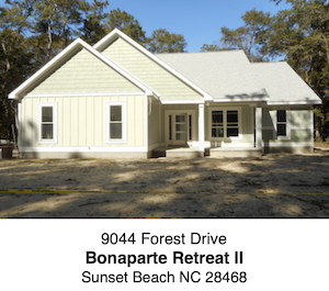 Bonaparte Retreat II / Sunset Beach