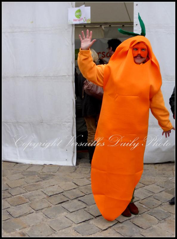 Human carrot Versailles Goûts d'Yvelines