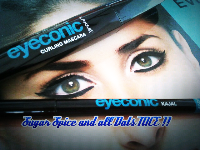 Lakme Eyeconic Kajal and Curling Mascara