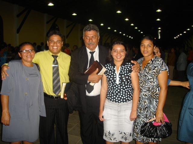 MINHA MÃE MISSIONARIA ZULENE, MICHELAND E SHEILA E MEU PAI