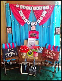 Majlis Raikan Cinta Bella & Daffi | 15/3/2015 @ Dewan Pejabat Tanah Daerah Klang, Selangor