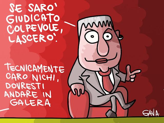 Gava Satira Vignette Vendola Galera