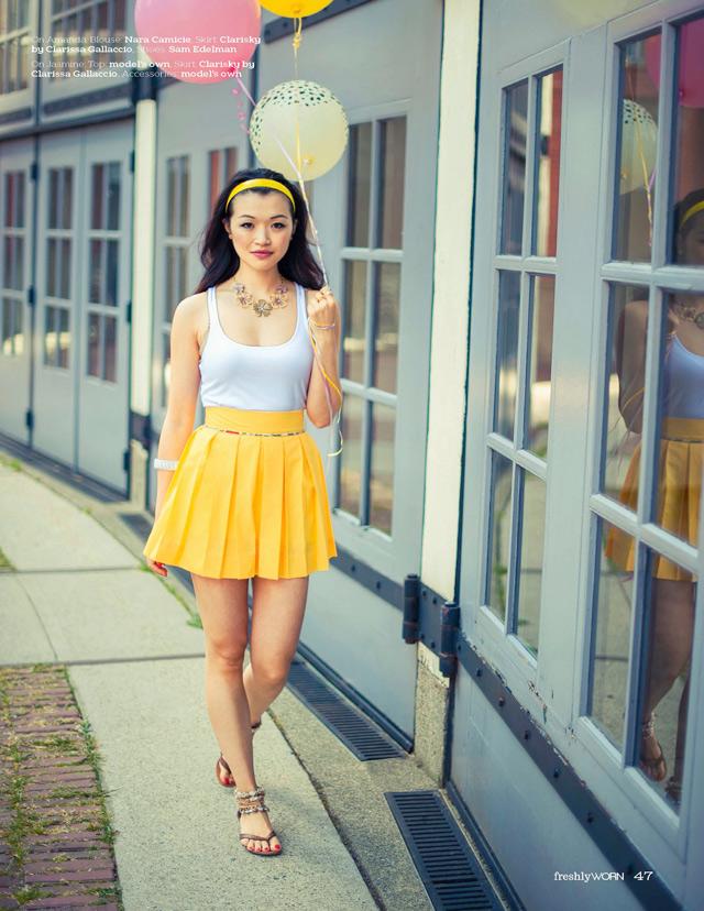 jasmine Zhu and amanda matheson modelling, vancouver fashion blog