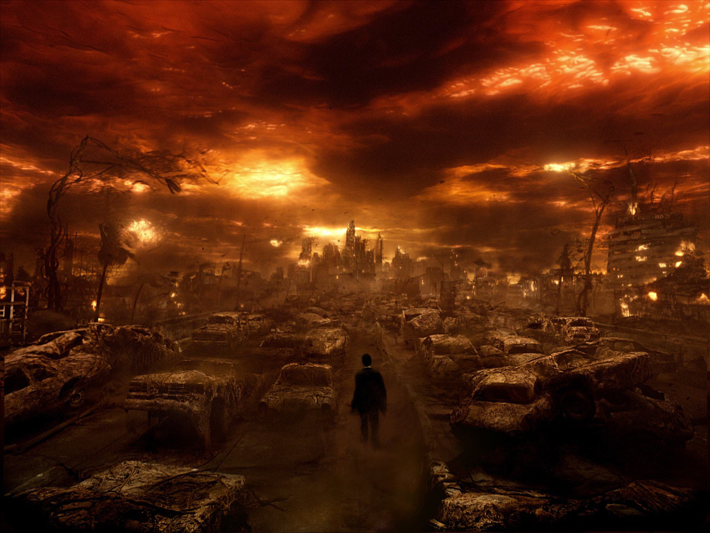 Gasmask terror chemical warfare nuclear holocaust 3