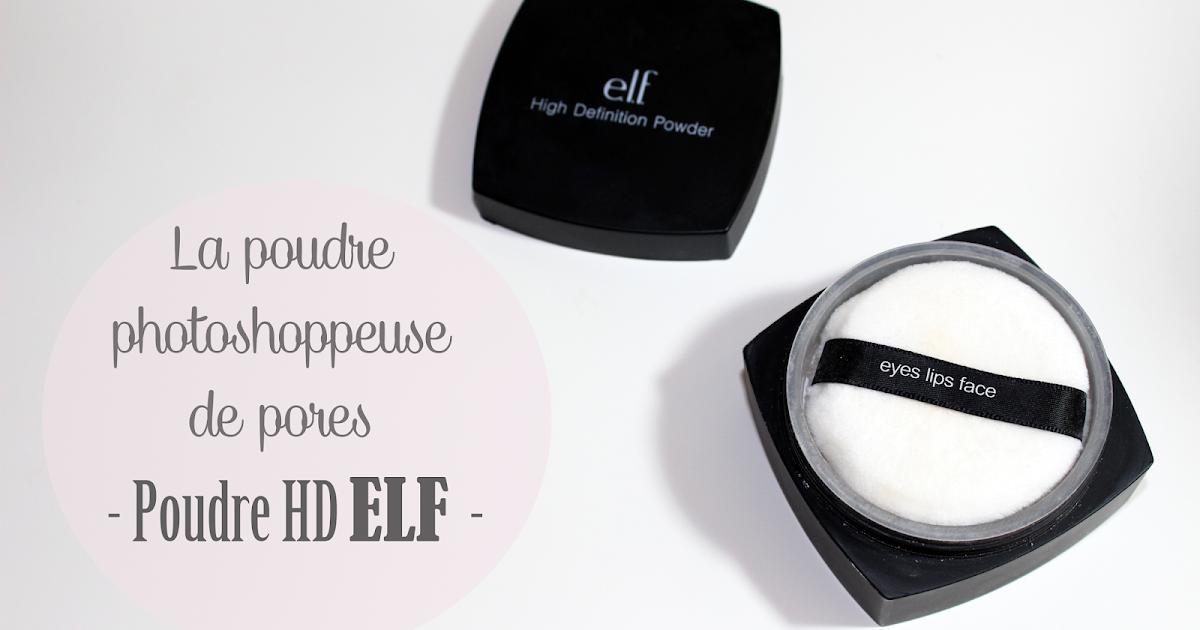 lilia photoshopper ses pores dilat s avec la poudre hd par elf. Black Bedroom Furniture Sets. Home Design Ideas