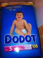 comprar pañales baratos dodot talla 5, 4, 3, 2