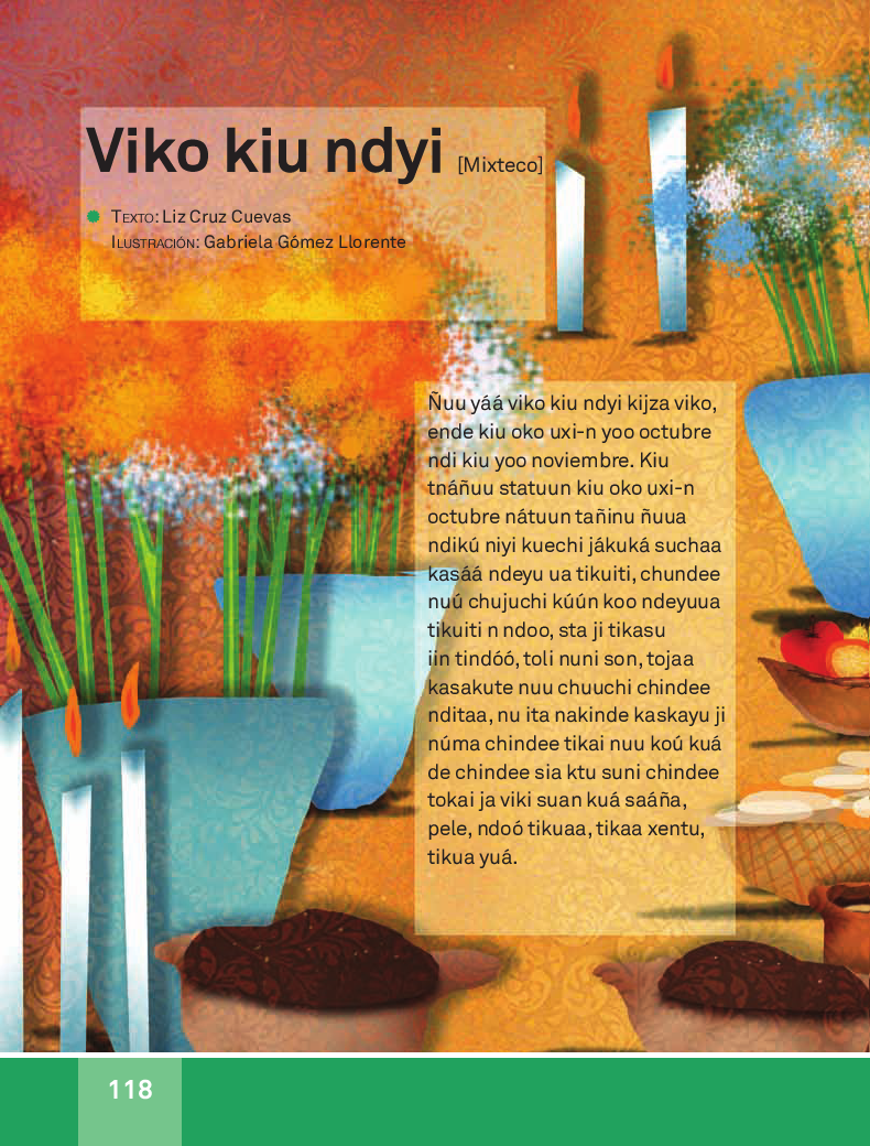 Viko Kiu ndy i / Día de Muertos - Español Lecturas 3ro 2014-2015