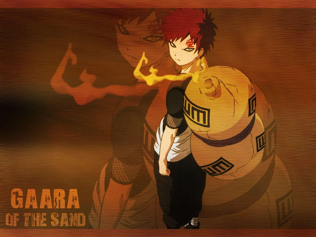Gaara The Sand Wallpaper