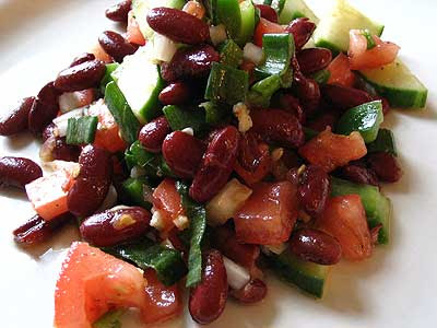 Red Kidney Bean Summer Salad