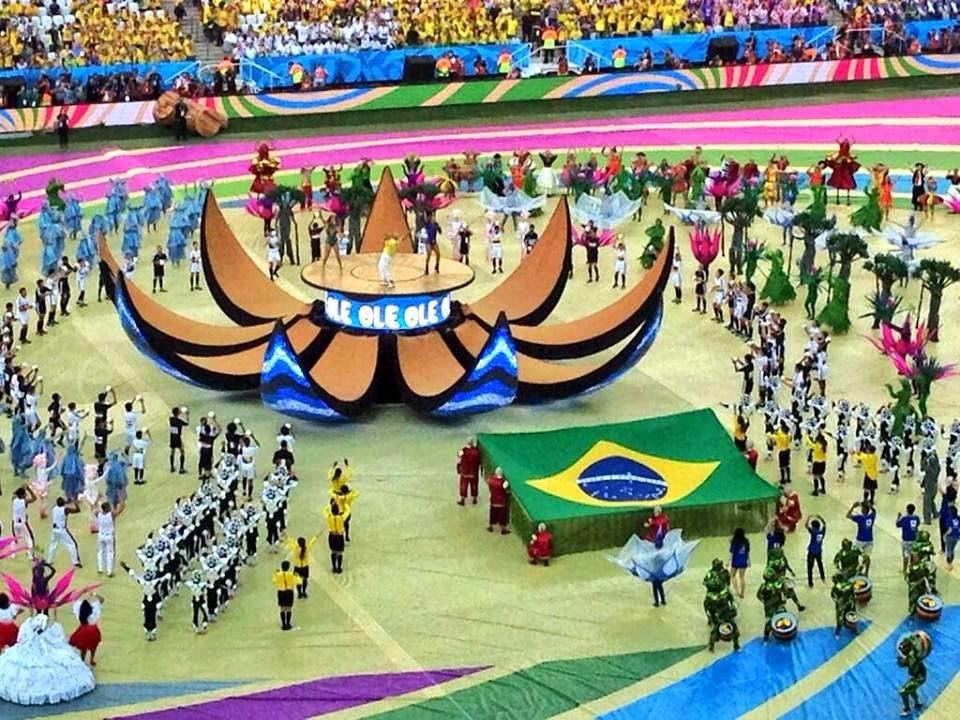 Imagens da Abertura da Copa 2014 Abertura da Copa do Mundo 2014