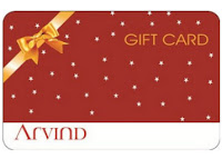 Get Arvind Gift Card Arrow or Club America or Elle 20% off on Rs 500 Via Amazon:buytoearn