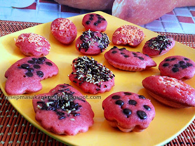 Cara Membuat Kue Cubit Green Tea/Red Velvet Resep