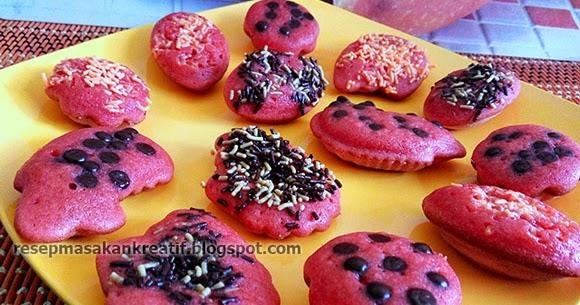 RESEP KUE CUBIT GREEN TEA DAN RED VELVET - Aneka Resep Masakan ...