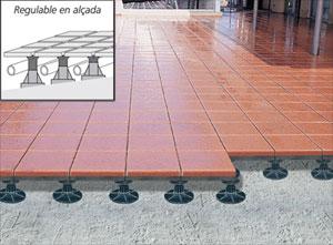 Como realizar o colocar suelos flotantes o tarimas - Suelos de exterior para terrazas ...
