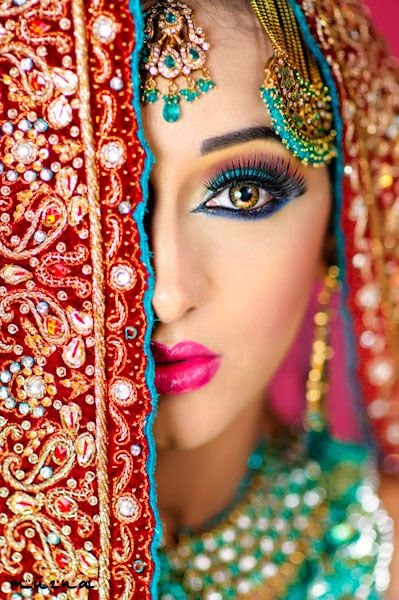 new bridal eye makeup 2015