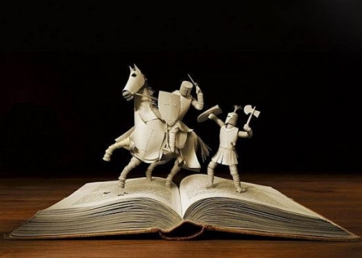 Books Carving