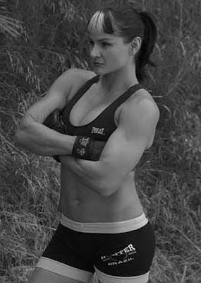 Women MMA Fighters - Debi Purcell