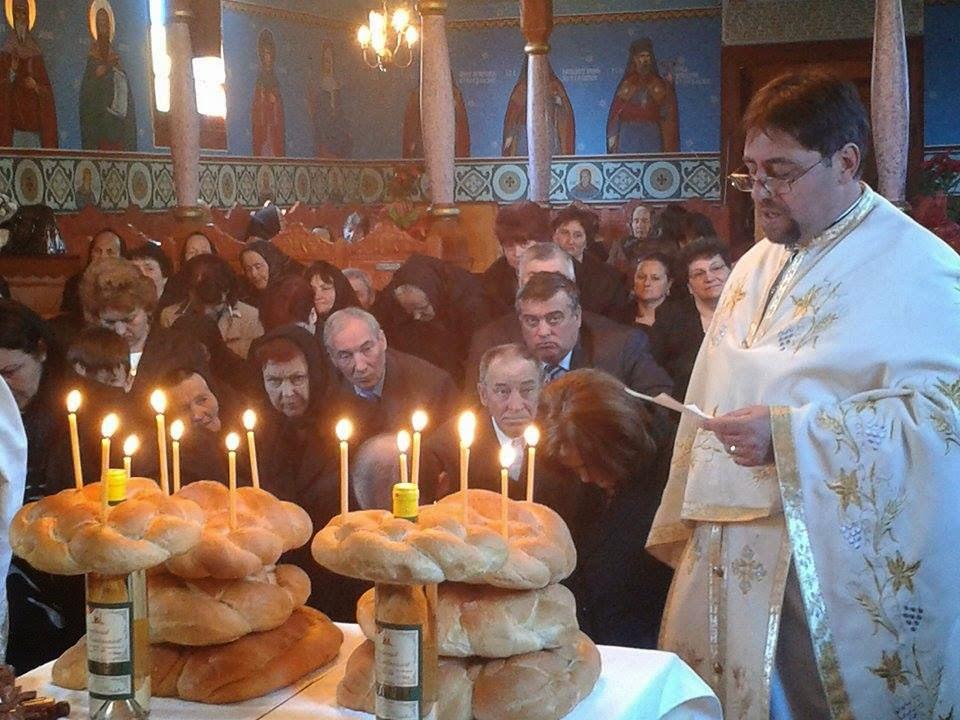 Parastas pentru credincioasa Luca Nastasia, Mărişelu 2015