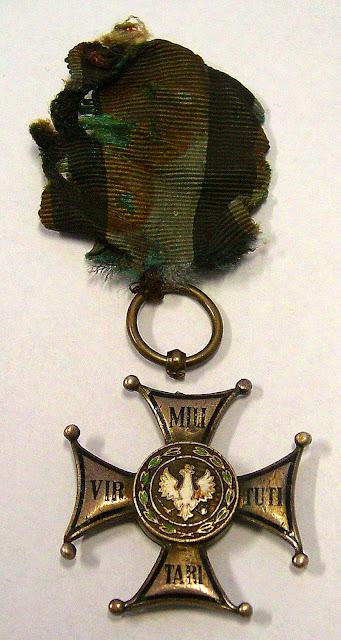 Krzyż Virtuti Militari majora Hubala. Foto. Jacek Lombarski.