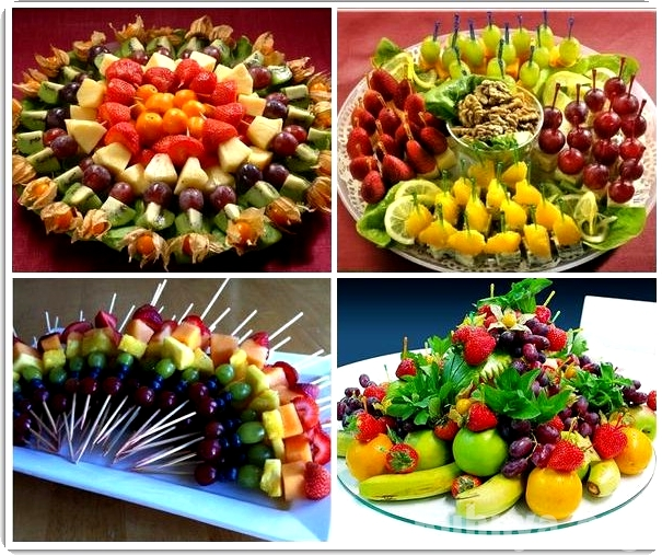 Как сделать фруктовые канапе