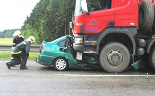 car truck accident