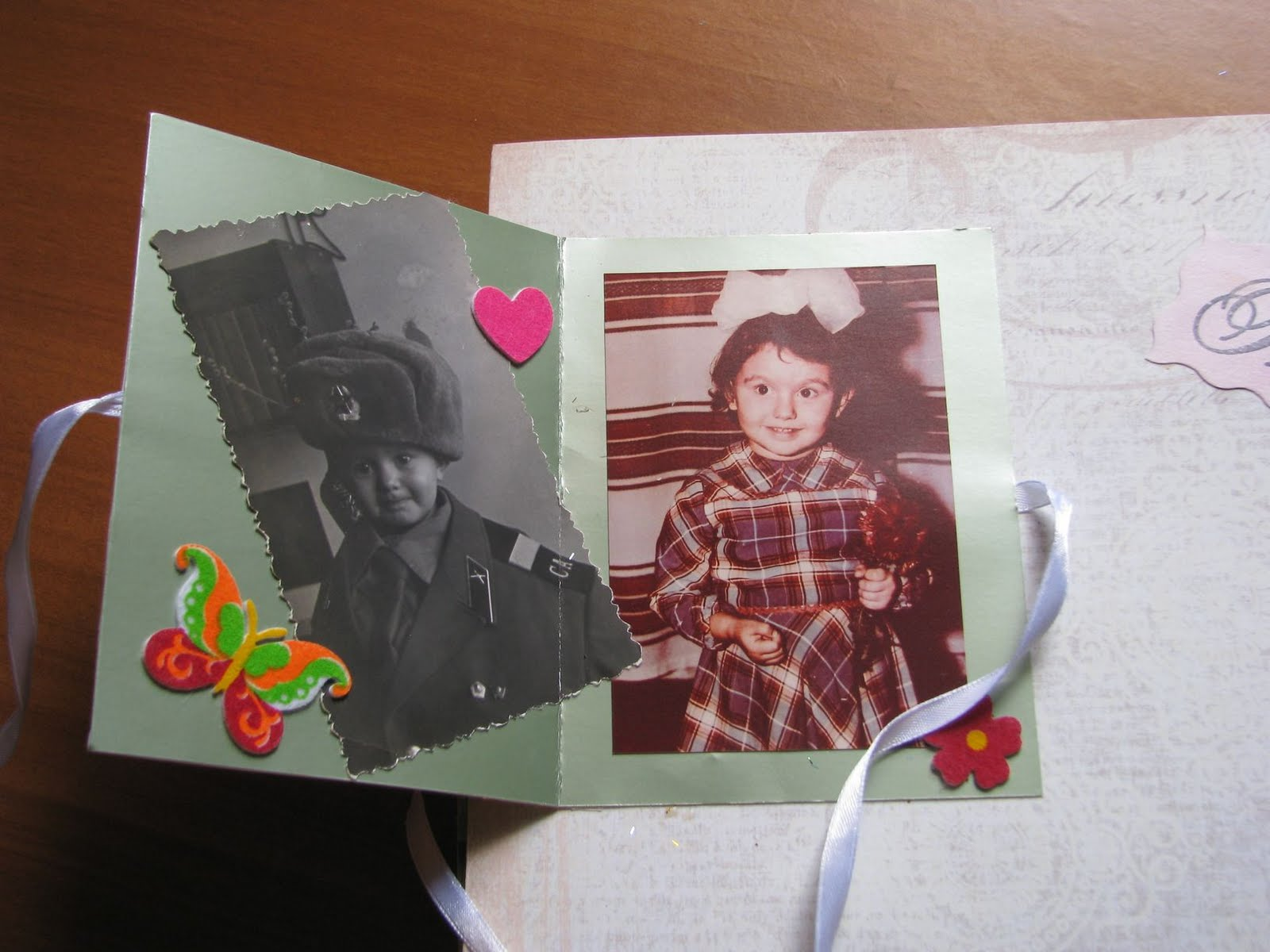 Фотокнига для мамы своими руками 69
