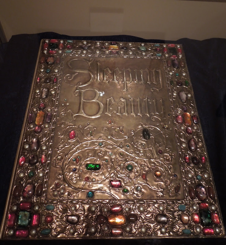 Disney Sleeping Beauty storybook prop