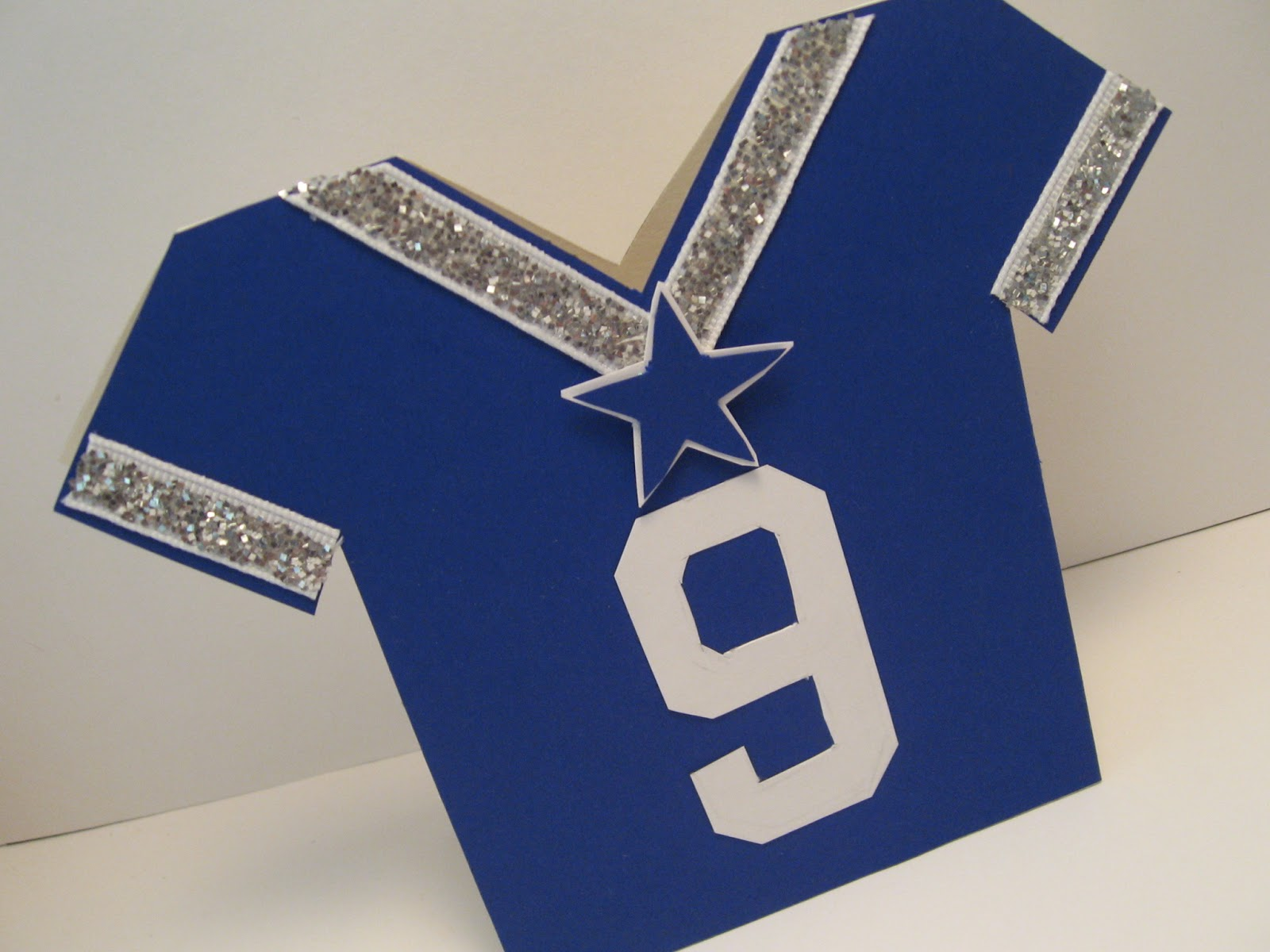 Snapaftw football and birthday cards football and birthday cards dallas cowboys jersey bookmarktalkfo Gallery