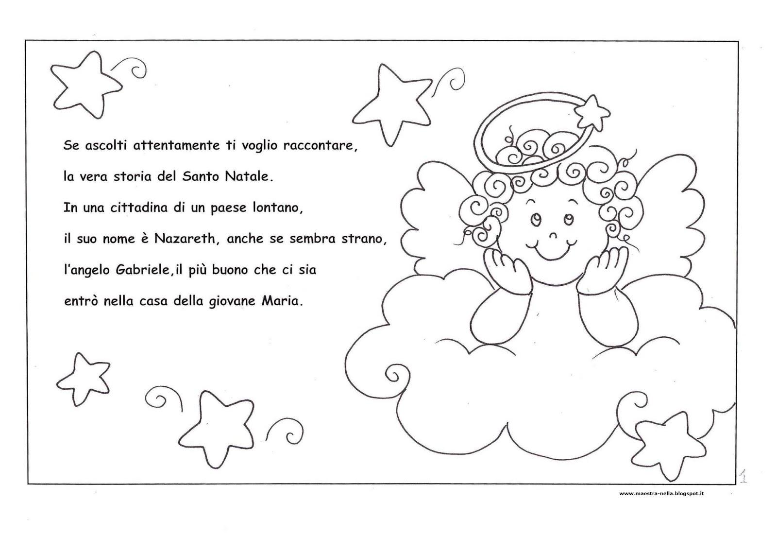 Maestra nella storia del santo natale for Schede didattiche natale scuola infanzia