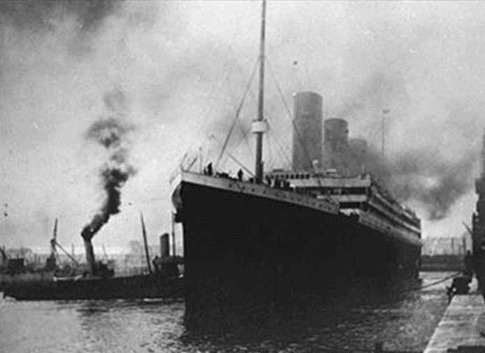 Documentary Photographs of Titanic: April 10, 1912, Departure from So'ton