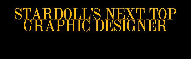 Stardoll's Next Top Graphic Designer