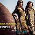 Sana Safinaz Winter Collection 2014-2015 | Sana Safinaz Winter Shawl Collection 2014-2015