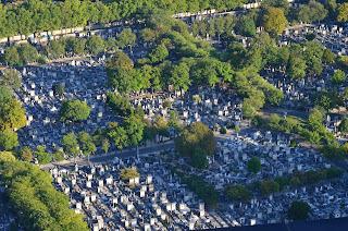Friedhof Montparnasse von oben