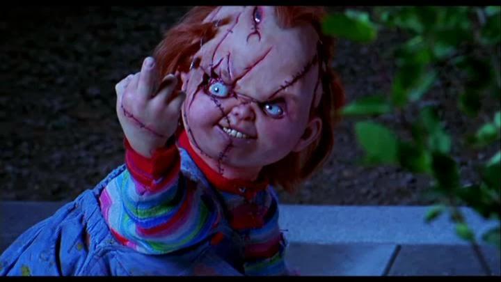 Chucky goodnight asshole