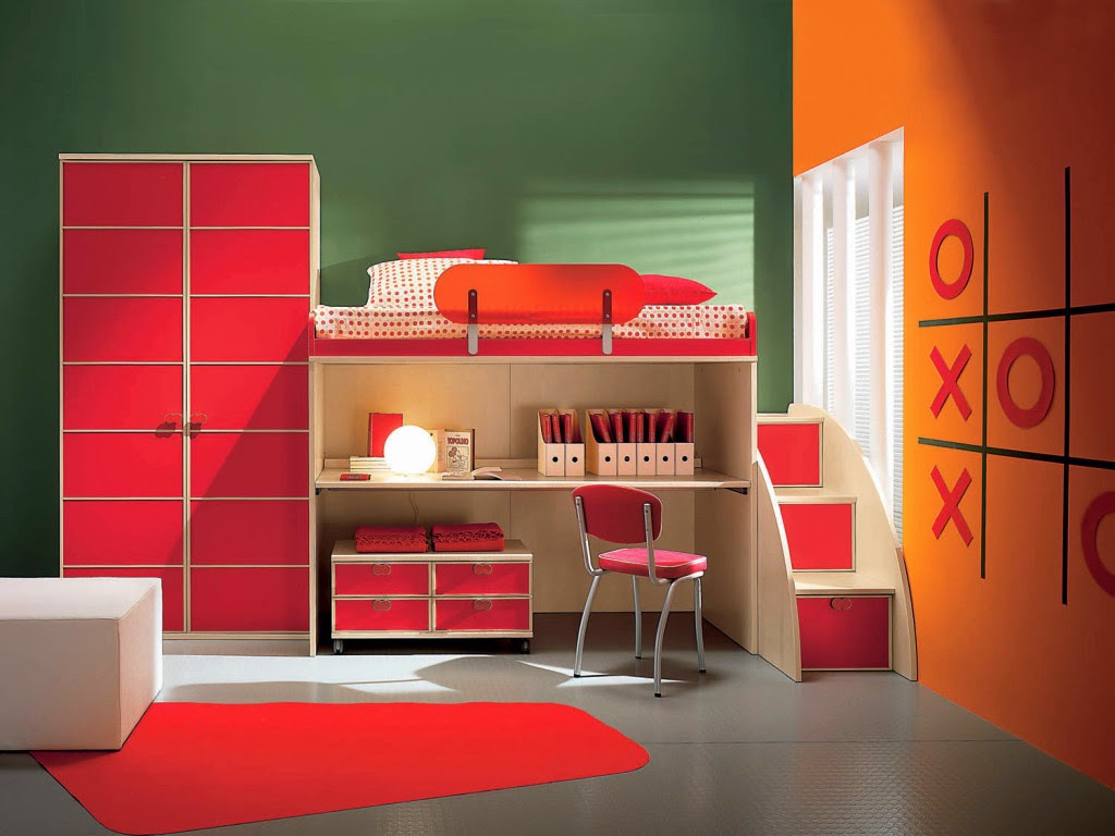Kids Bedroom House childrens bedroom paint colors. zamp.co