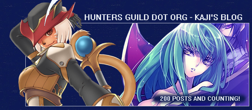 Hunters-Guild.org: Kaji's Blog