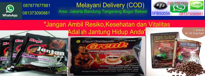 """Supplier """"JUAL"""" Kopi CLENG Vitalitas Pria 100% Asli Call 081373090881"""