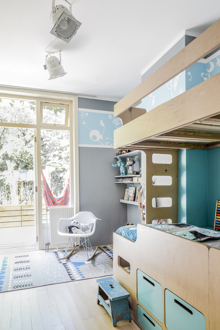 house of the Rafa-kids owners - boys room with the bunk bed