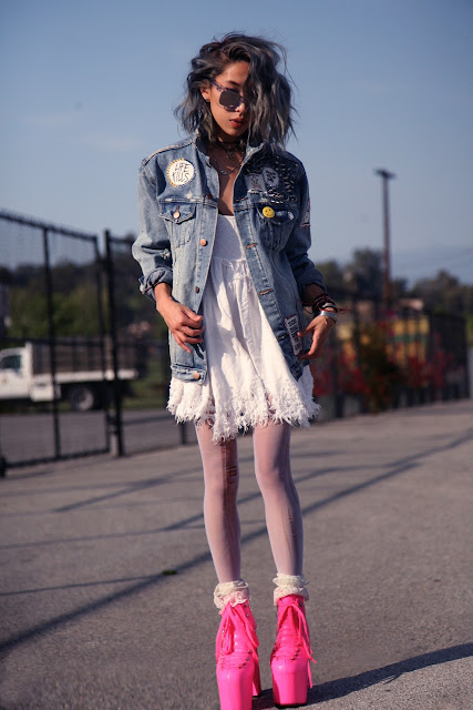 daily punk style clothing