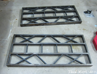 solid steel table saw fence