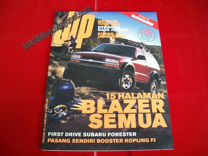 VOLUME 14 (Juni 2003) , berisi : title=