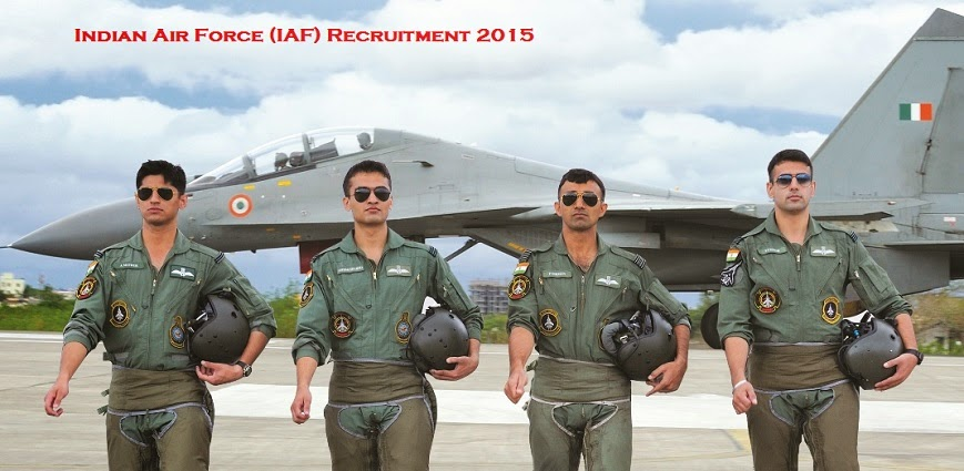 Indian Air Force Recruitment 2015