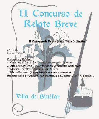 II Concurso de relato Breve Villa de Binéfar