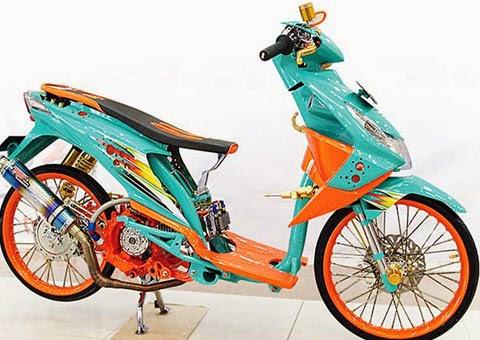 Pilihan Modifikasi Honda Beat Ceper