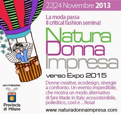 Siamo media partner di: Natura Donna Impresa