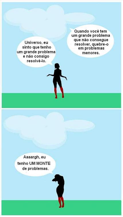 quadrinhos tantos problemas