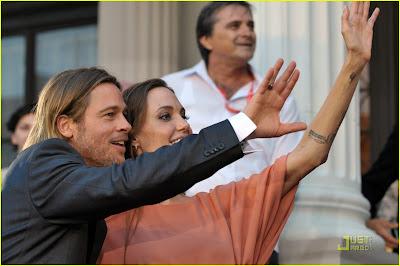 Angelina Jolie & Brad Pitt @ Sarajevo Film Festival 2011!
