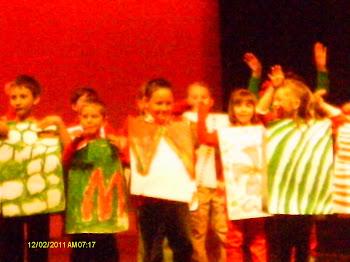 2nd Grade Christmas Show!