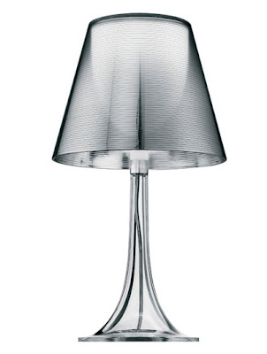 Flos Miss K Table Lamps in a stylish Transparent finish, designer collection