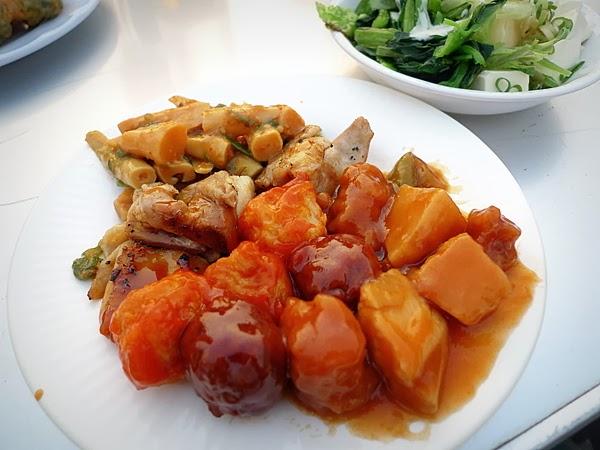 高島屋ビアガーデン 食べ物
